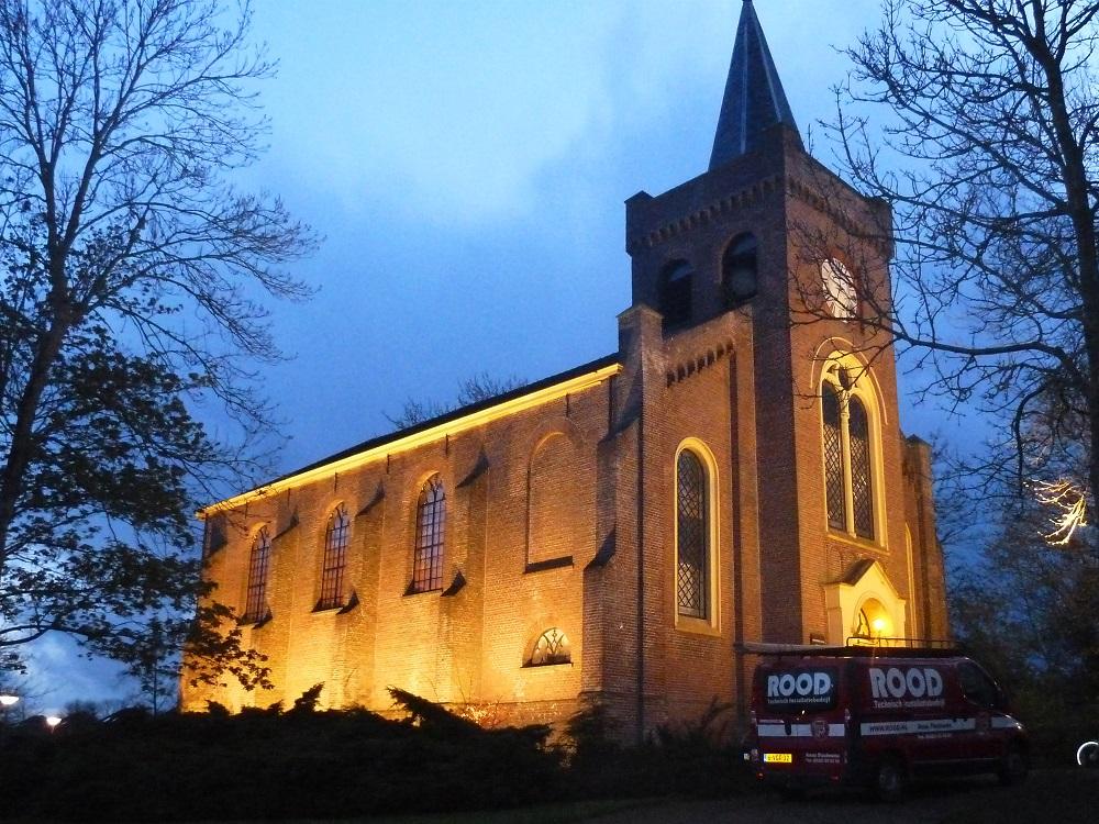 LED verlichting voor kerk Anna Paulowna - Technisch ...